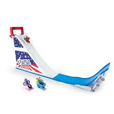 nitro circus rc monster truck hexbug nitro circus mega ramp set toys