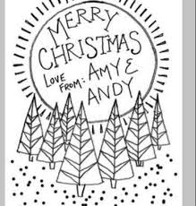 drawing christmas cards ideas drawing examples and drawing