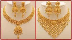 image gold necklace images Latest gold necklace designs with weight today fashion jpg
