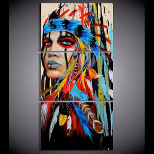 beautiful wall art and home decor sacred indian native american limited edition 3 piece wall art canvas royal crown pro
