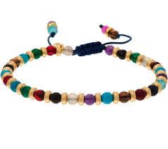 bracelet beaded images Lola rose london beaded adjustable bracelet page 1 001
