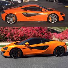 orange mclaren interior 570s mod thread mclaren life