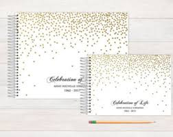 personalized funeral guest book memorial service guest book a remembered funeral