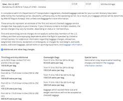 how much does united charge for bags united award lh nh ticket and msc bag fee issue flyertalk forums