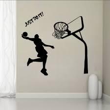 Decoration Star Wall Decals Home by Aliexpress Com Buy Michael Jordan Basketball Player Wall