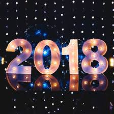 led new years marquee light year 2018 led metal sign 8 inch battery operated