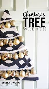 how to make a beautiful diy christmas tree wreath u2013 craftivity designs