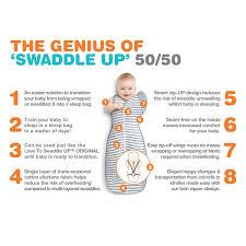 Ways To Help Baby Sleep In Crib by Amazon Com Love To Dream Swaddle Up 50 50 Gray Medium 13 18 5