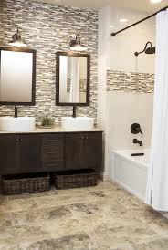 Ideas For Bathroom Floors 35 Grey Brown Bathroom Tiles Ideas And Pictures