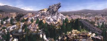 Map Of California Adventure Designing California Adventure Grizzly Peak Designing Disney