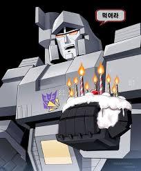 transformer birthday transformer birthday blank template imgflip