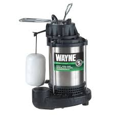 How To Install A Pedestal Sump Pump Wayne 3 4 Hp Submersible Sump Pump Cdu980e The Home Depot