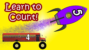 rocket ships and monster truck buses teaching children to