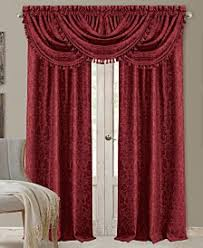 Red Scarf Valance Valances Shop Valances Macy U0027s