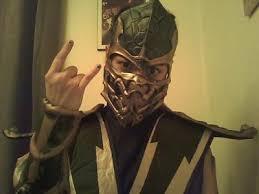 Halloween Costumes Mortal Kombat Mortal Kombat Scorpion Deluxe Costume Buycostumes