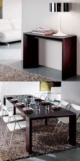white space saver table our goliath table closes to save space and opens to seat a party of