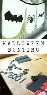 halloween bunting how to make one quick and cheap