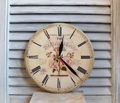 Online Shopping For Home Decoration Items Buy Wall Clock Vintage Decoupage