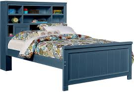 Bookcase Bed Frame Cottage Colors Blue 3 Pc Full Bookcase Bed Full Beds Colors