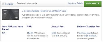 approved my u s bank altitude reserve application experience