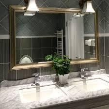 bathroom mirror bathroom ideas grey wooden bathroom cabinet