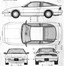 nissan silvia drawing index of var albums blueprints car blueprints nissan
