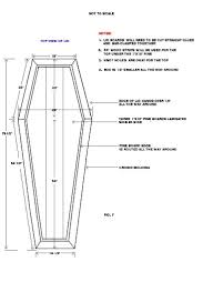 how to build a coffin plans coffin plans