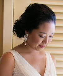 grande earrings handmade rhinestone and swarovski pearl bridal earrings olini bridal