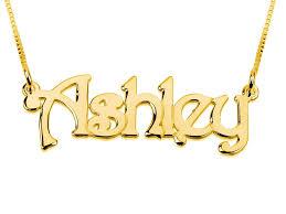 gold plated name necklace gold plated name necklace block letters