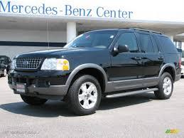 Ford Explorer Black - 2003 black ford explorer xlt 4x4 31643992 gtcarlot com car