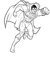 45 superman images coloring books drawings