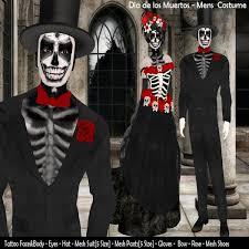Death Costumes Halloween Marketplace Male Costume Los Muertos
