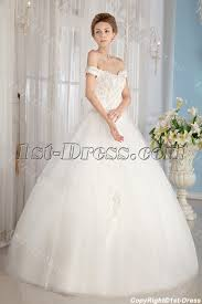 cinderella wedding dresses ivory shoulder cinderella gown wedding dresses 1st dress