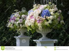 Flowers In A Vase Images Flowers In A Vase For The Wedding Ceremony Outdoor Stock Photo