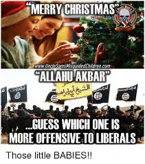 merry christmas 1775 www uncle sams misguidedchildrencom allahu