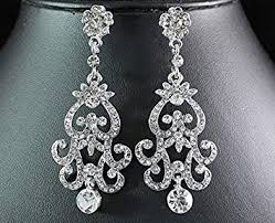 silver dangle earrings for prom cheap earrings for prom find earrings for prom deals on