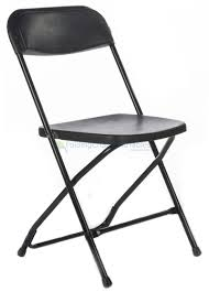 chair for rent black plastic folding chair premium rental style