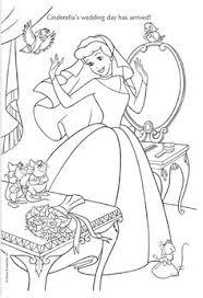 coloring activity cinderella disney coloring pages