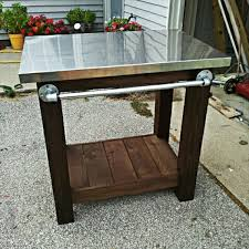 Homemade End Tables by Homemade Grill Table 10 Easy Diy Designs Easy Diy And Crafts
