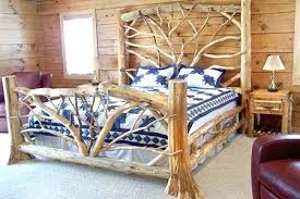 log bedroom furniture log bedroom suite rustic lodge log and timber furniture