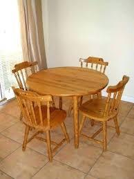 round oak kitchen table solid wood kitchen table and chairs wood kitchen table sets round