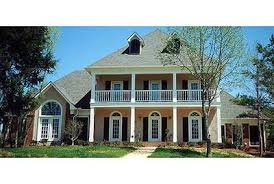 plantation style home plans stately plantation style design 5579br architectural designs