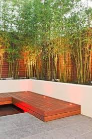 Modern Backyard Fence by 11 Modern Backyard With A Horizontal Wood Fence And Concrete