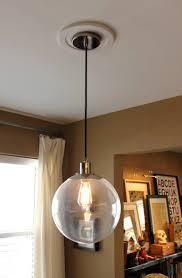 Clear Glass Pendant Light Fixtures Clear Glass Globe Pendant Light Fixtures Lighting Designs