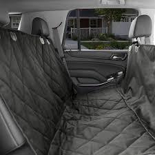 kopeks waterproof quilted car seat cover black chewy com