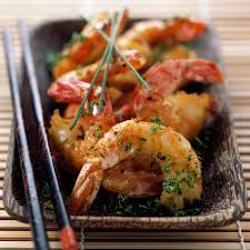 cuisine asiatique recette crevettes marinées sautées à l asiatique recette crevettes