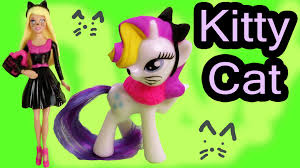 Halloween Kitty by Mlp Barbie Doll Playdoh Black Kitty Cat My Little Pony Rarity Mini
