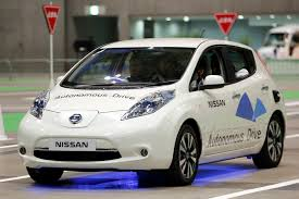 nissan leaf ads nasa and nissan to develop self driving vehicles time