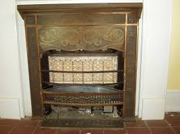 vintage ray glo gas fireplace insert heater by patience on zibbet