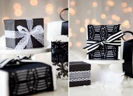 black and white gift wrap for the rest of the week we ll be more of our gift wrap